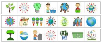 Earth Day Cutting Strips