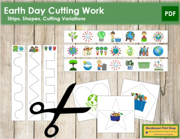 Earth Day Cutting Strips