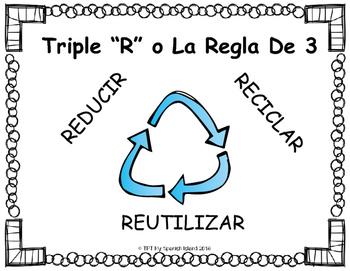 Earth Day «DIA DE LA TIERRA» All about Reduce, Reuse & Recycle