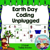 Earth Day Day Coding Unplugged