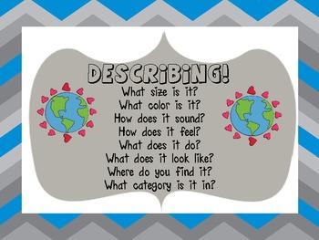 Earth Day Describing