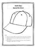 Earth Day- Design a Cap!