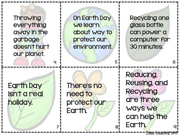 Earth Day Activity: Scavenger Hunt!