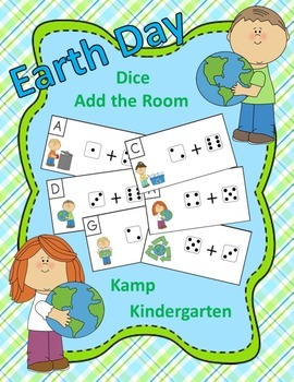 Earth Day Dice Add the Room (Sums to 10)