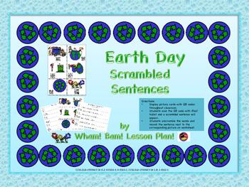 Earth Day Scrambled Sentences
