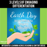 Earth Day Differentiated Reading Passages & Questions