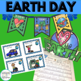 Earth Day Differentiated Writing,Crafts & Reading Activiti