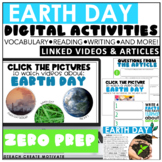 Distance Learning Earth Day Digital Activities | Google Cl