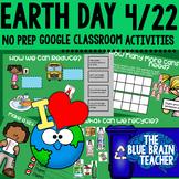 Earth Day Digital Activities   Google Classroom   Distance