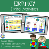 Earth Day Digital Activities | Google Slides & SeeSaw