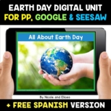 Earth Day Digital Activities for Google and Seesaw - Dista