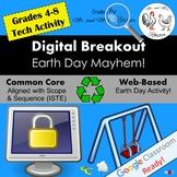 Earth Day Digital Breakout - Earth Day Mayhem! Earth Day Digital Escape Room