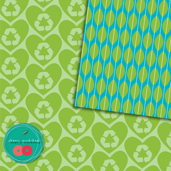 Earth Day Digital Paper