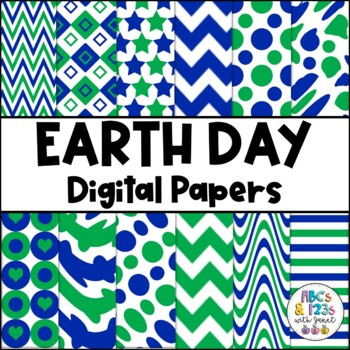 Earth Day Digital Paper Pack