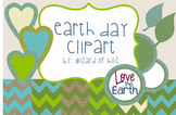 Earth Day Digital Paper and Clipart - Free for Personal or