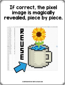 Earth Day Digital Pixel Art Magic Reveal ADDITION