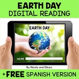 Earth Day Reading Comprehension for Google Classroom - Dis