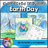 Earth Day Directed Drawing