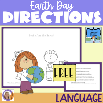 Freebie! Earth Day Directions