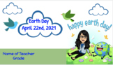 Earth Day - Distance Learning Activities