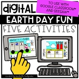 Earth Day Distance Learning Digital Activities for Google
