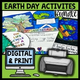 Earth Day Activities | Craft Math Writing Reading STEM | D