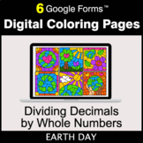 Earth Day: Dividing Decimals by Whole Numbers - Digital Co