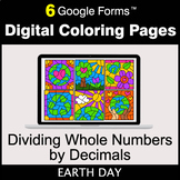 Earth Day: Dividing Whole Numbers by Decimals - Digital Co