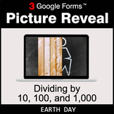Earth Day: Dividing by 10, 100, and 1,000 - Google Forms  