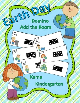 Earth Day Domino Add the Room Sums to 10