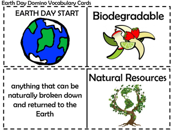 Earth Day Dominoes