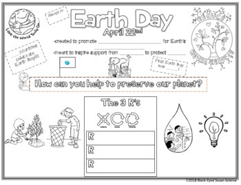 Earth Day Doodle Notes