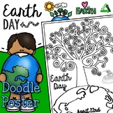 Earth Day Doodle Poster FREE