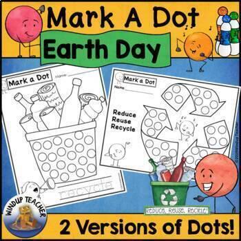 Earth Day Dot Dauber Set
