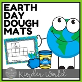 Earth Day Dough Center for Fine Motor and Counting
