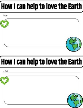 Earth Day Drawing or Writing Prompt