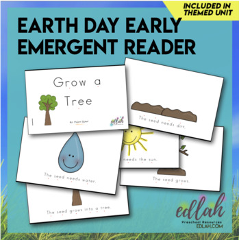 Earth Day Early Emergent Reader