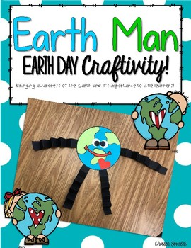 Earth Day Earth Man Craftivity
