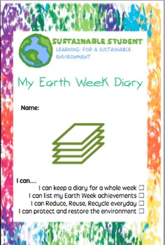 Earth Day Earth Week diary