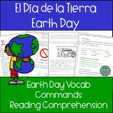 Earth Day! El Dia de la Tierra 20 page PACKET for Spanish