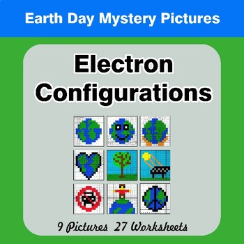 Earth Day: Electron Configurations - Mystery Pictures