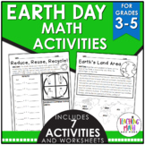 Earth Day Math Activities Elementary