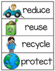 Earth Day Vocabulary Reader and Activities