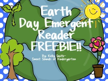 Earth Day Emergent Reader FREEBIE!