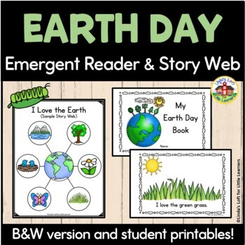 f6ba163e9017 ... Earth Day Emergent Reader and Story Web  I Love the Earth