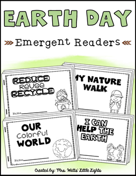 Earth Day Emergent Readers (4 Readers)