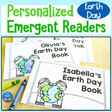 Earth Day Emergent Readers - Personalized Name Books