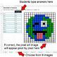 Earth Day Emoji - Decimals to Fractions - Google Sheets Pixel Art