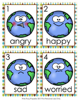 Earth Day Emotions Write the Room