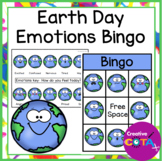 Earth Day Activity Emotions and Feelings Bingo